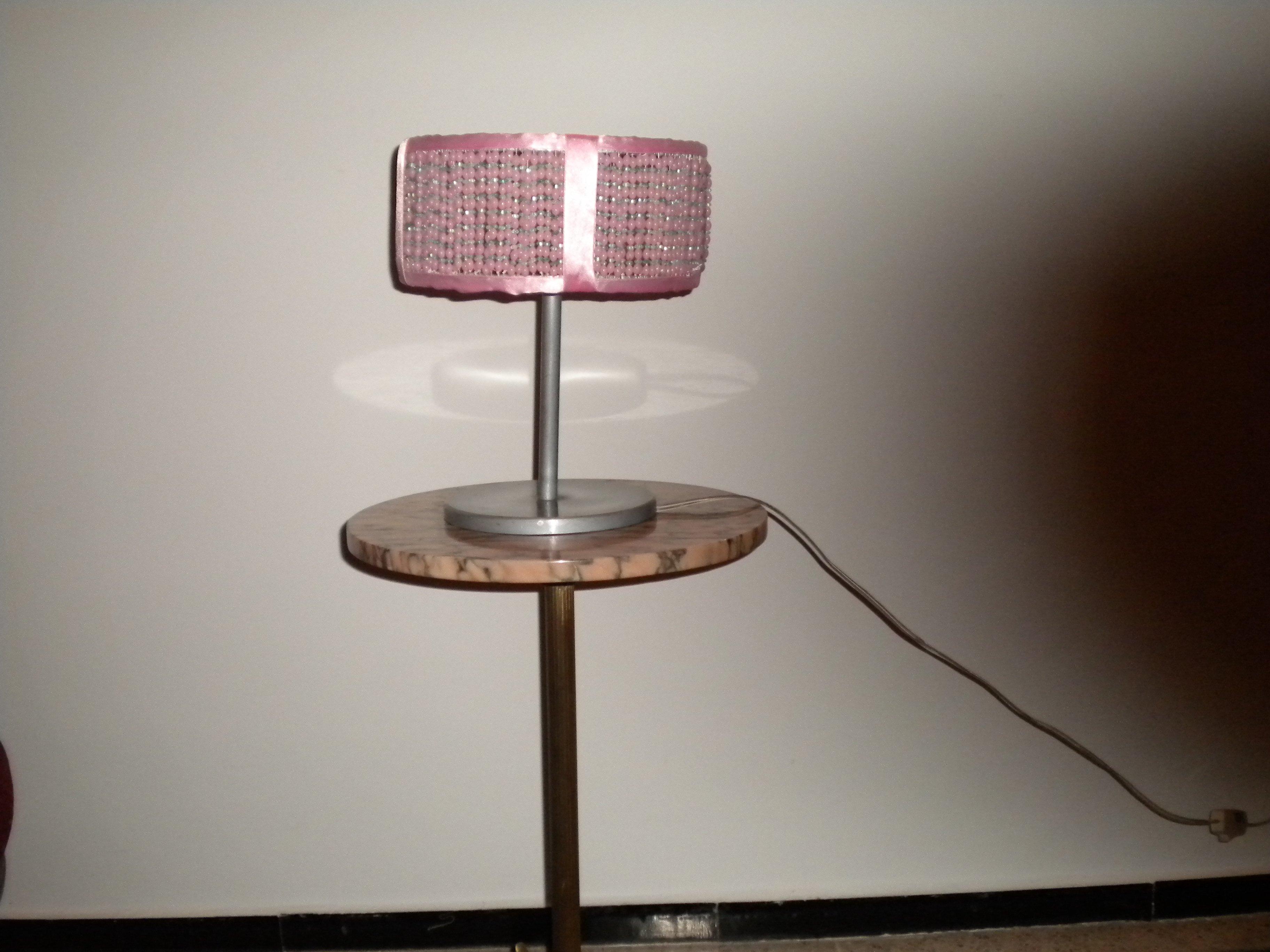 cr ations arts nadia archive du blog lampe allum e le soir ou teinte la nuit et avecperles. Black Bedroom Furniture Sets. Home Design Ideas